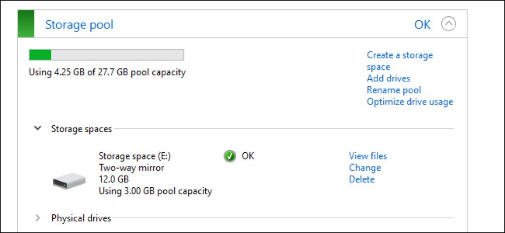 storage space bug