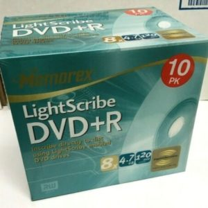 Memorex DVD 10 Pack