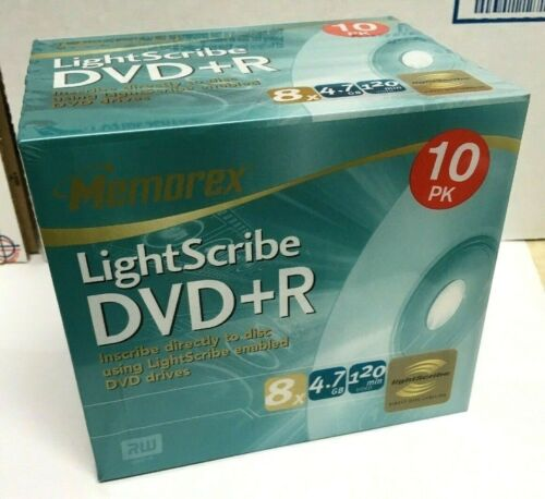 Memorex DVD 10 Pack