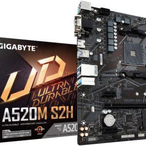 Gigabyte A520M-S2H